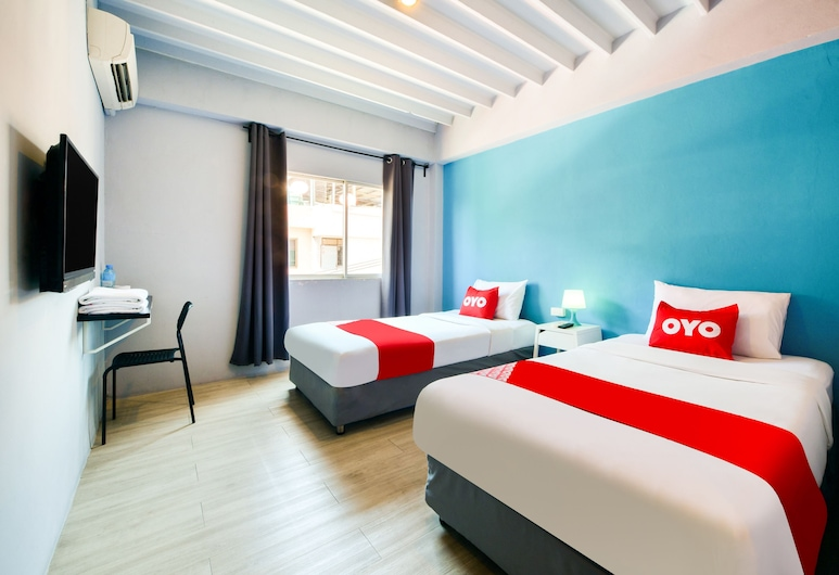 OYO 279 Sweet Pound Hotel, Pattaya, Superior Twin Room, Guest Room