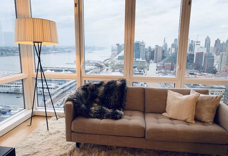 NY FINEST LUXURY APARTMENT, New York, Premium Apartment, Living Room