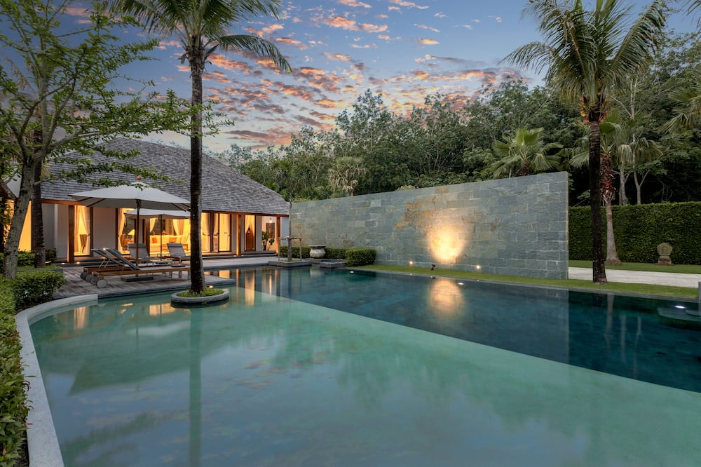 3-Bedroom Villa with a Private Pool - 私人泳池