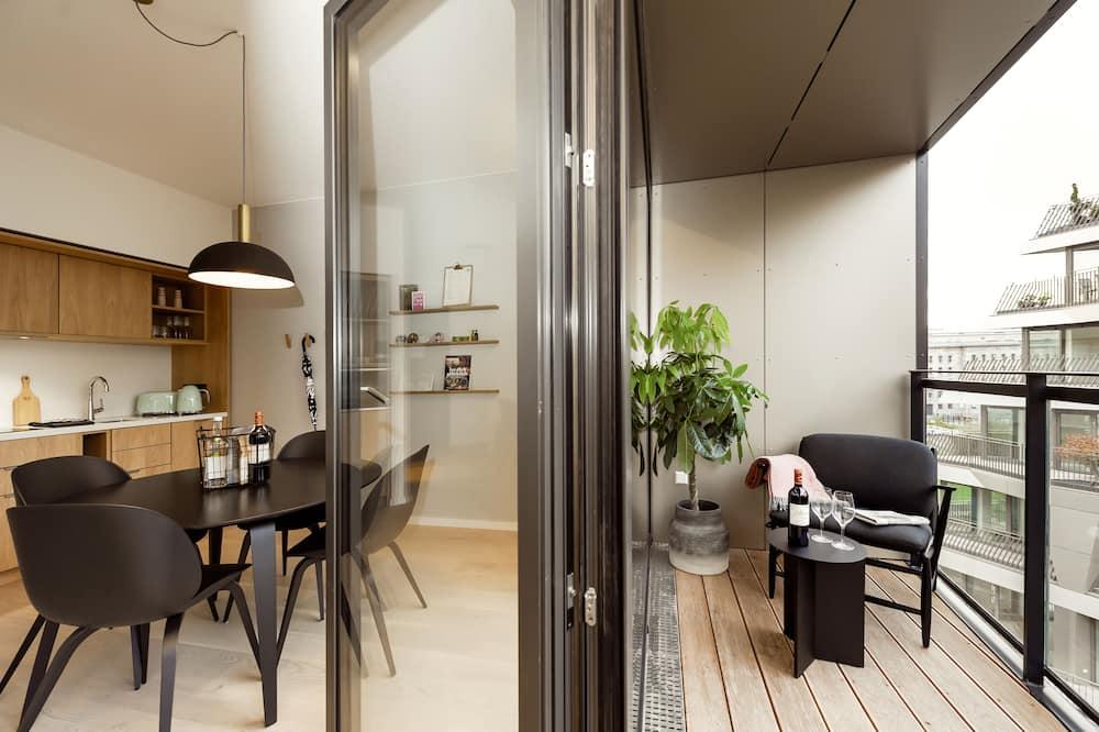 Executive Apartment, 1 Bedroom, Balcony - Balcony