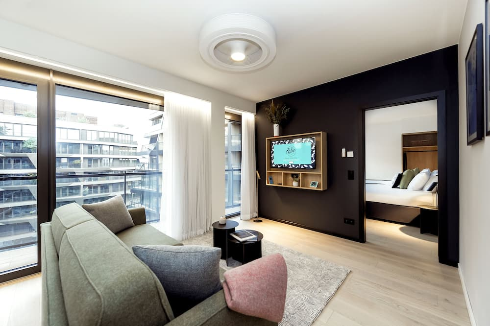 Executive Apartment, 1 Bedroom (Twin) - Living Area