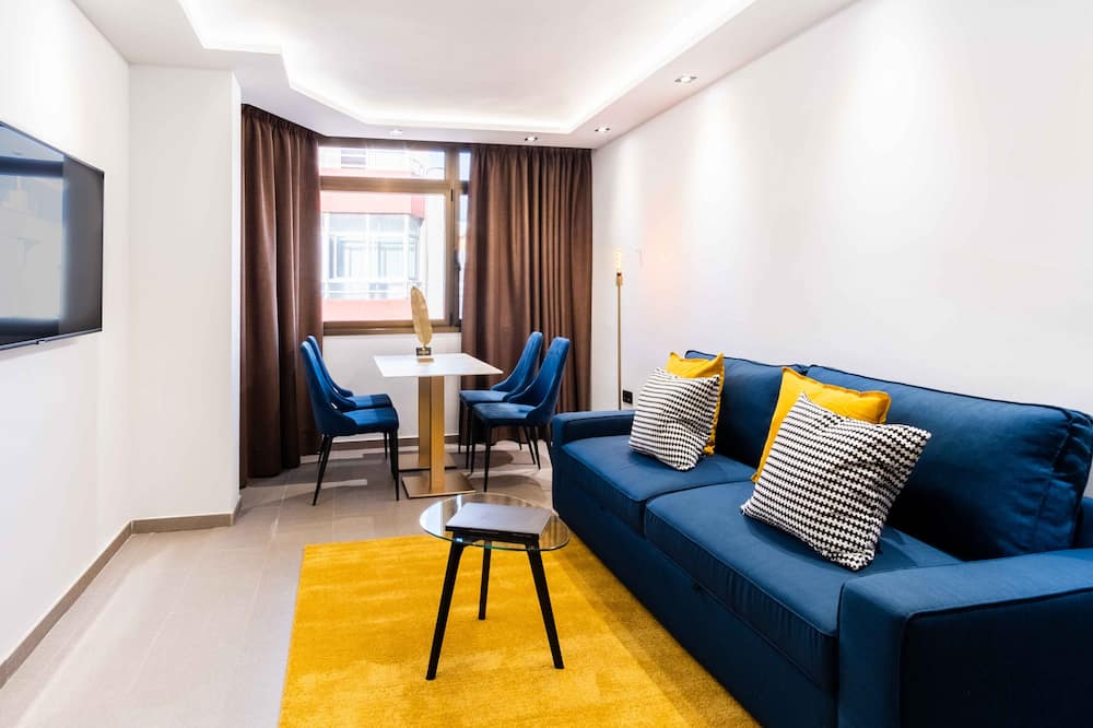 Deluxe-suite (4 adults) - Stue