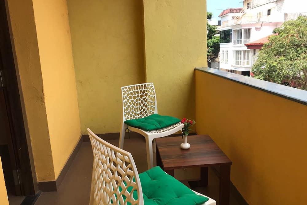 Executive kamer, 1 twee- of 2 eenpersoonsbedden - Uitzicht vanaf balkon