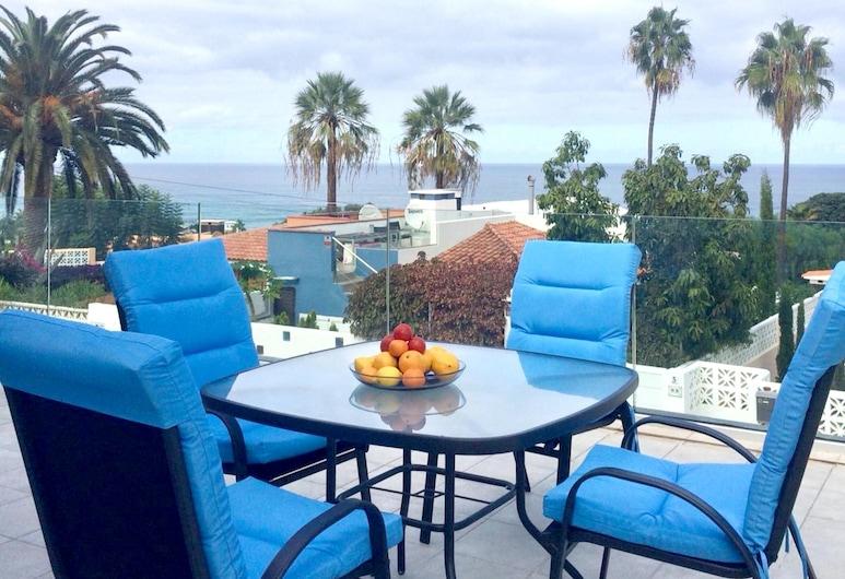 Apartment With 2 Bedrooms in Puerto de la Cruz, With Wonderful sea View, Enclosed Garden and Wifi, Puerto de la Cruz, Terraza o patio