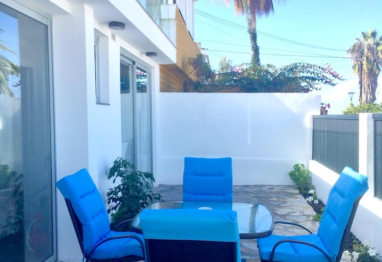 Apartment With one Bedroom in Puerto de la Cruz, With Wonderful sea View, Furnished Terrace and Wifi, Puerto de la Cruz, Terraza o patio