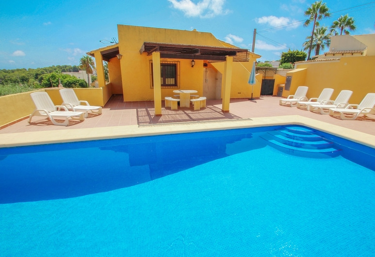 Devesa - sea view villa with private pool in Moraira, Teulada, Basen odkryty