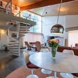 家庭單棟房屋, 4 間臥室, 非吸煙房, 花園景 - 客廳