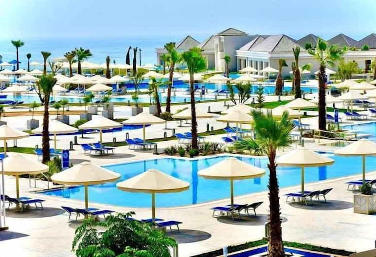 White Beach Resort Taghazout - All Inclusive, 塔哈宙, 日光浴甲板
