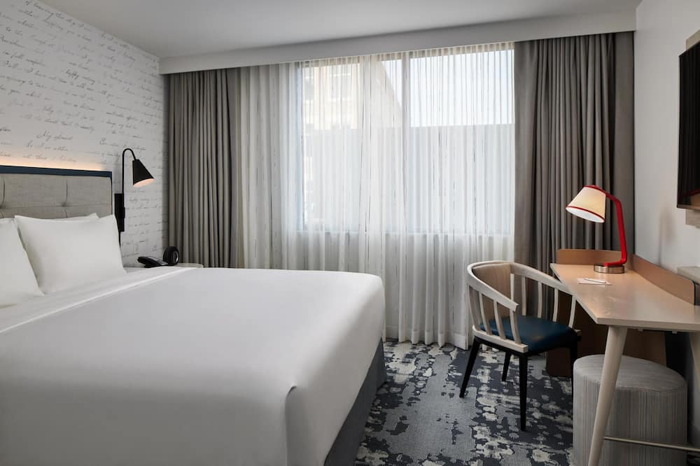 Номер, 1 двуспальная кровать «Кинг-сайз», вид на город - Вид на город