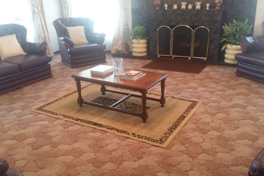 Comfort Double Room (Shared bathroom) - Living Area