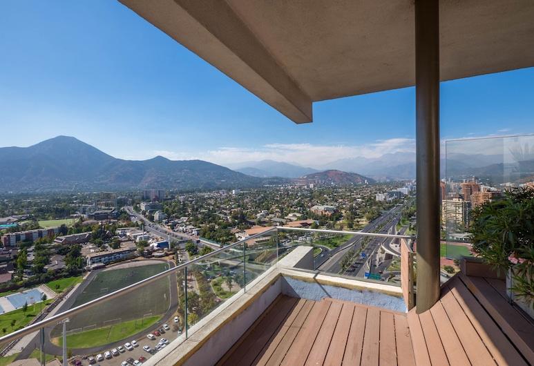 Arauco View Apartment, Santiago, Terrace/Patio