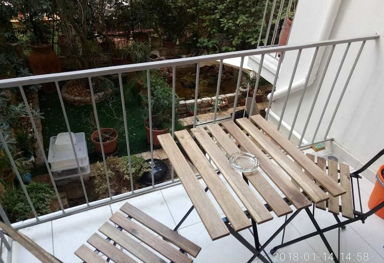 편리한 위치에 있는 모던 스튜디오 아파트먼트, 아테네, 아파트, 침실 1개, 발코니