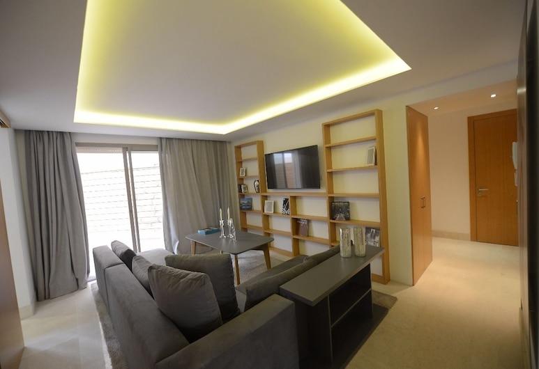 Riva 44, Casablanca, Comfort apartman, Nappali rész