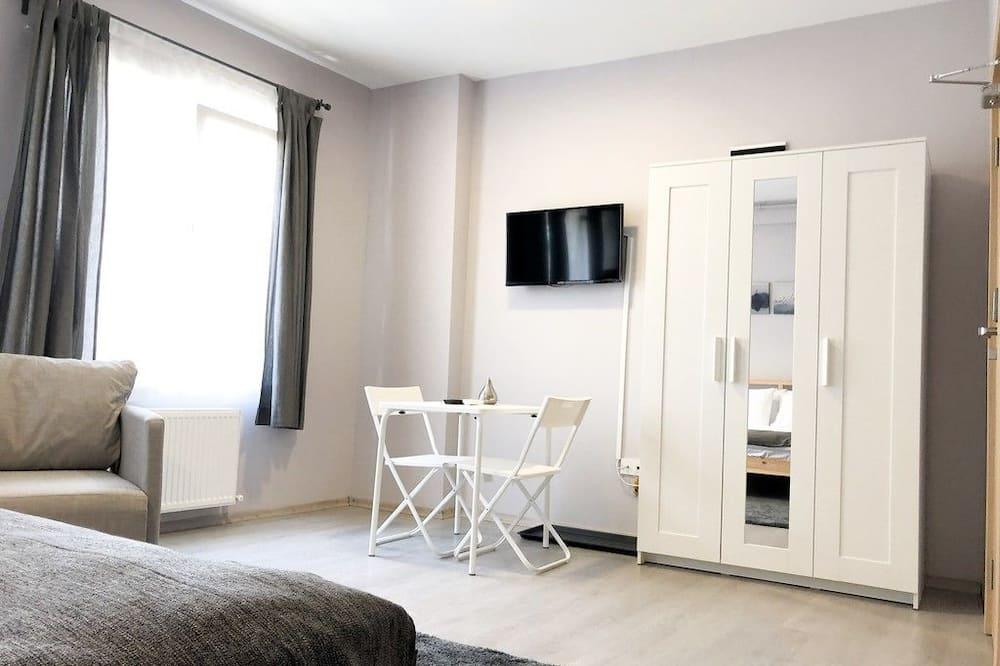 City-Doppelzimmer, 1 Schlafzimmer, Nichtraucher - Wohnbereich
