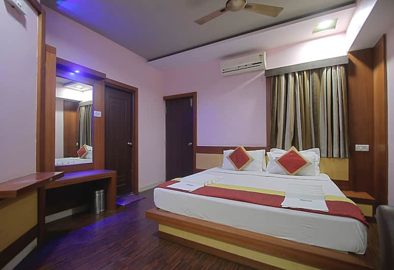 Hotel ABM International, Bengaluru, Deluxe dubbelrum, Gästrum