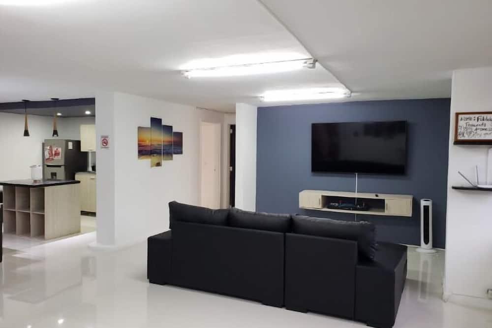 シグネチャー アパートメント 2 ベッドルーム - リビング エリア