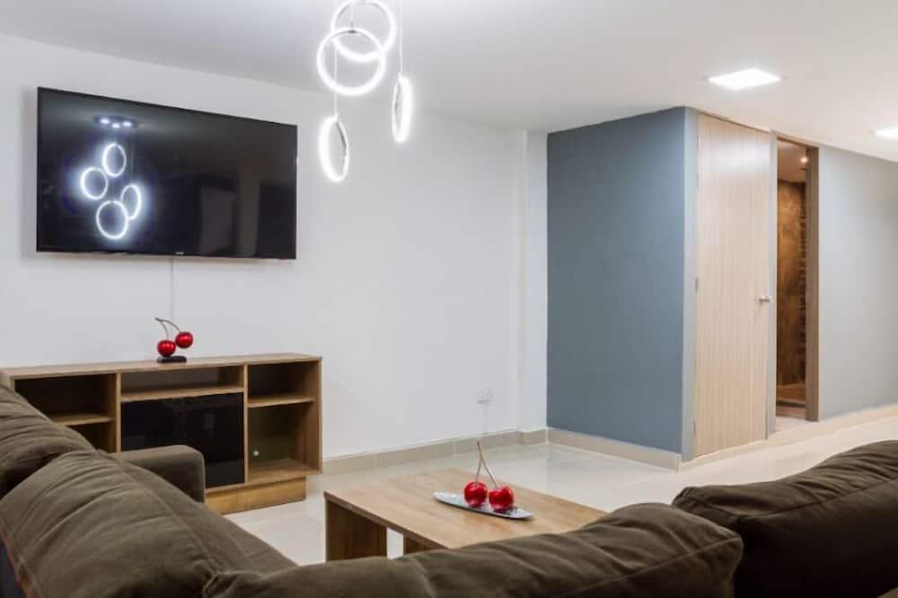 Departamento, 6 habitaciones - Sala de estar
