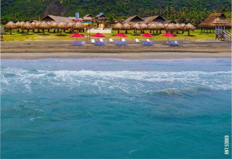 Arena Beach Hotel, Cartagena, Strand
