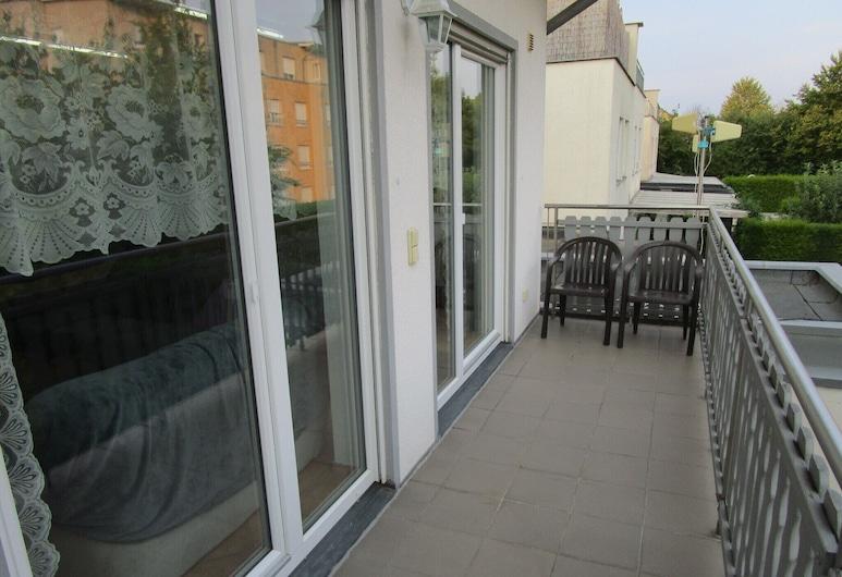 Michael's Apartments, Kerpen, Apartmán typu Superior, 2 spálne, balkón, výhľad na záhradu, Balkón