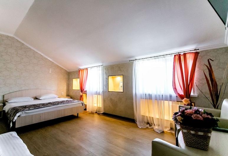 Отель «Белый Сад», Санкт-Петербург, Улучшенный номер, 1 двуспальная кровать «Кинг-сайз», Номер