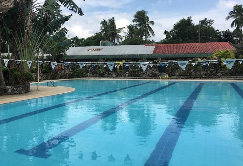 達拉薩義大利公寓飯店, Tanauan City, 室外游泳池