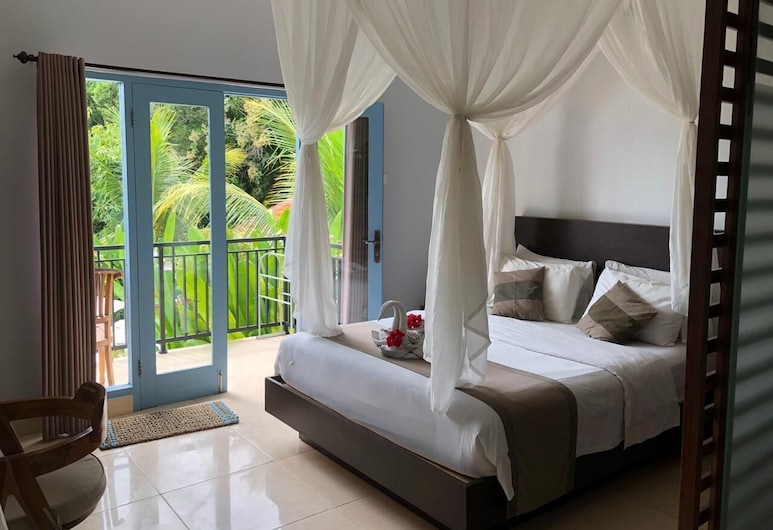 Gatsby Hotel and Hostel, Pecatu, Deluxe Double Room, Balcony, Guest Room
