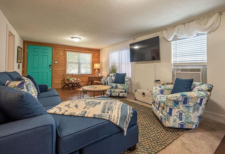 搖滾船酒店 - 2 房之家, 阿藍沙斯港, 單棟房屋, 3 間臥室, 客廳