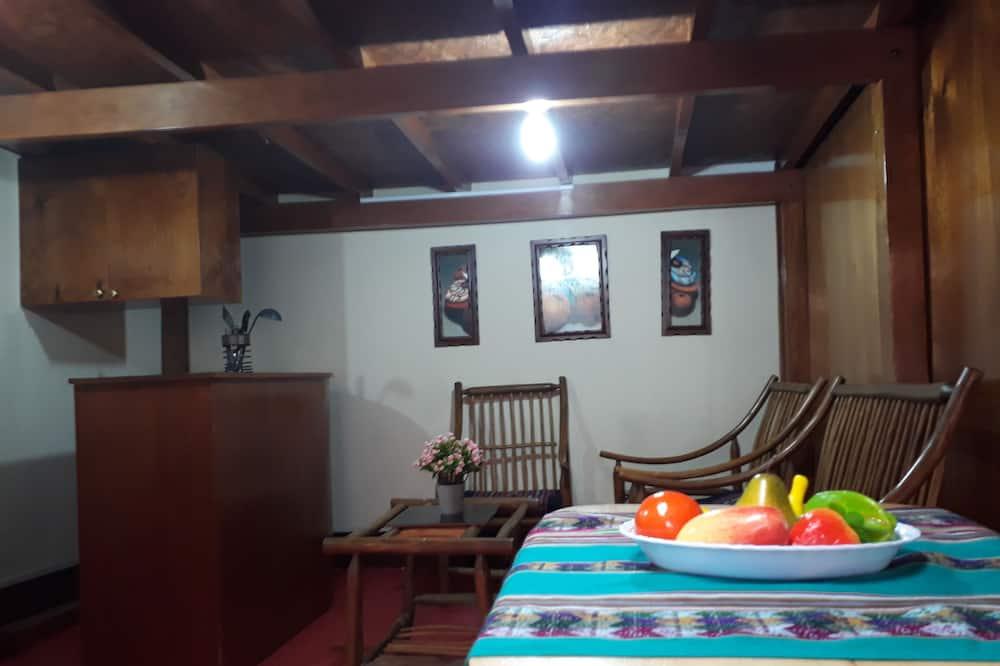 Appartement Classique - Restauration dans la chambre