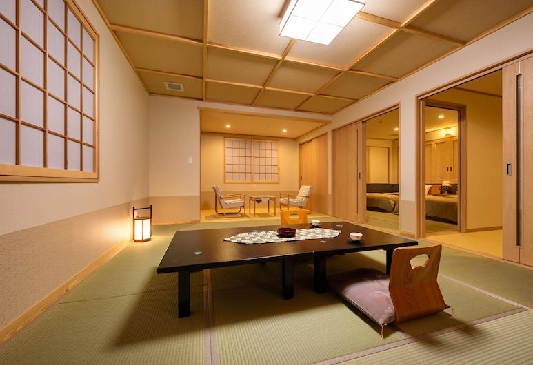 Ryokan Tarobee, Yuzawa, Kamer (Japanese Western Style, for 6 Guests), Kamer