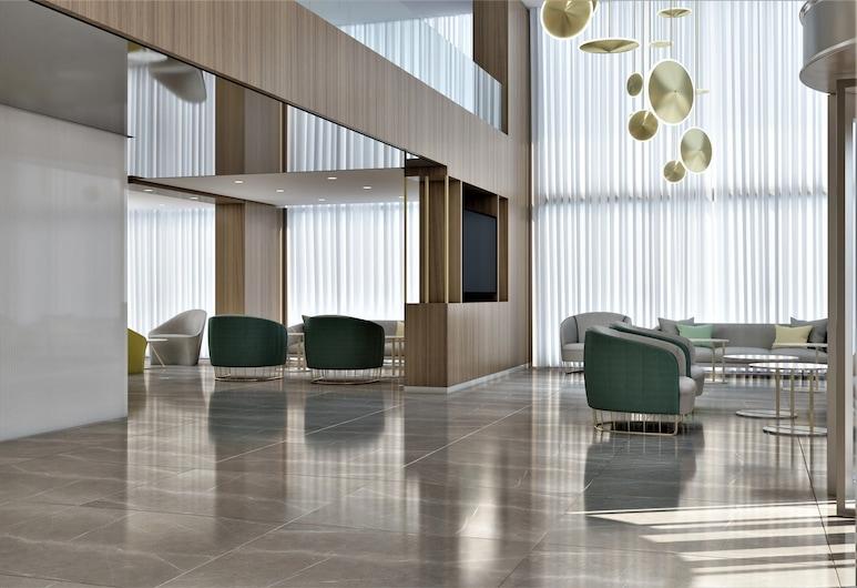 New Hotel, Kasablanka, Poilsio zona vestibiulyje