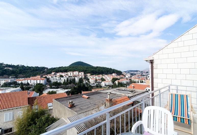 Apartments Mony, Dubrovnik, Leilighet, 1 soverom, balkong, utsikt mot sjø, Balkong