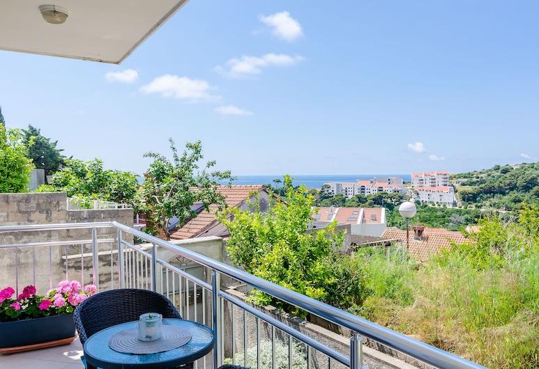 Apartments Mony, Dubrovnik, Apartamento standard, 1 quarto, Sacada, Vista para o mar, Varanda