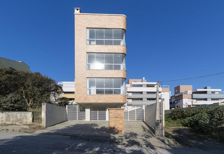 Aluguel Apartamento Flat 4 Pessoas 450B, Bombinhas, บริเวณภายนอก