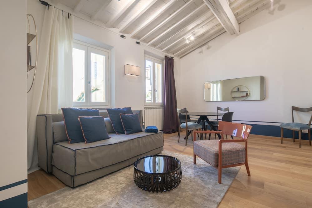 Romantisch appartement, 2 slaapkamers - Woonruimte