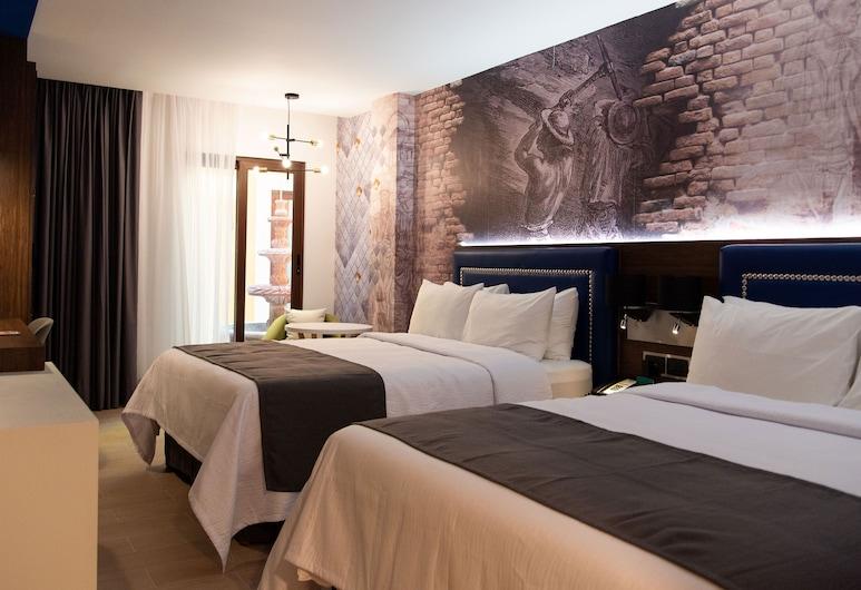 瓜納華托英迪格飯店, 瓜納華多, 客房, 2 張加大雙人床, 非吸煙房, 客房