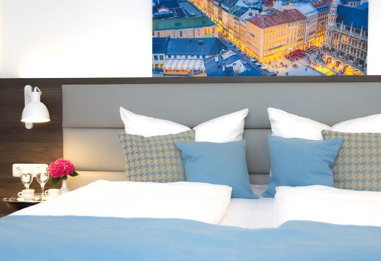 Lizz Hotel Munich, Munich, Deluxe Double Room, Guest Room