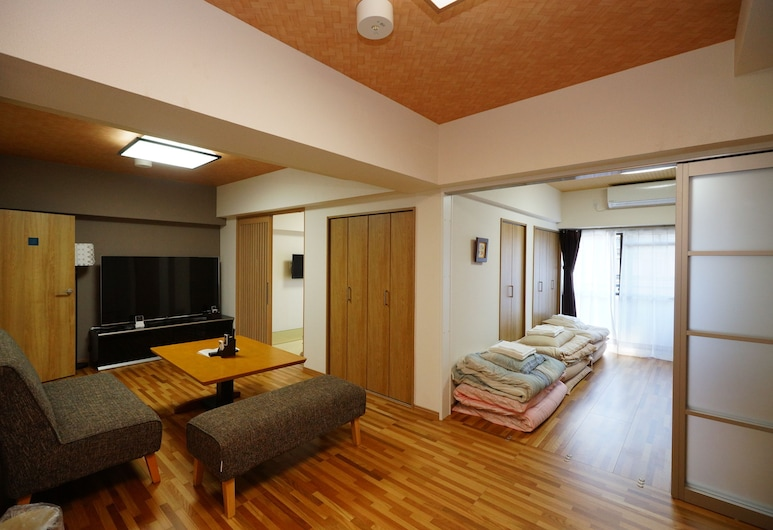 Gion Yasui House, Kyoto, Apartment, 2 Bedrooms, Living Area