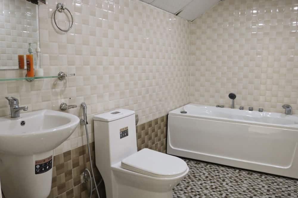Attic Room, Bathtub - Bathroom