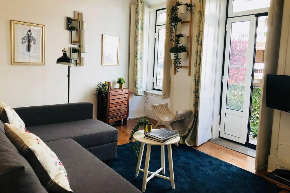 Apart Daire, 3 Yatak Odası, Teras - Oturma Odası