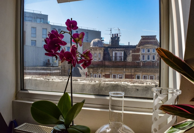 Bright And Spacious 1 Bedroom Loft In Dalston, Londýn, Balkón