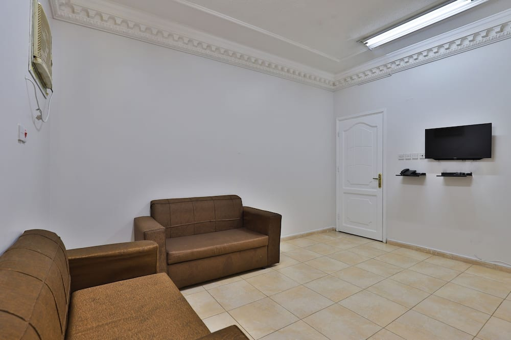 Two Bedroom Deluxe Apartment - Living Room