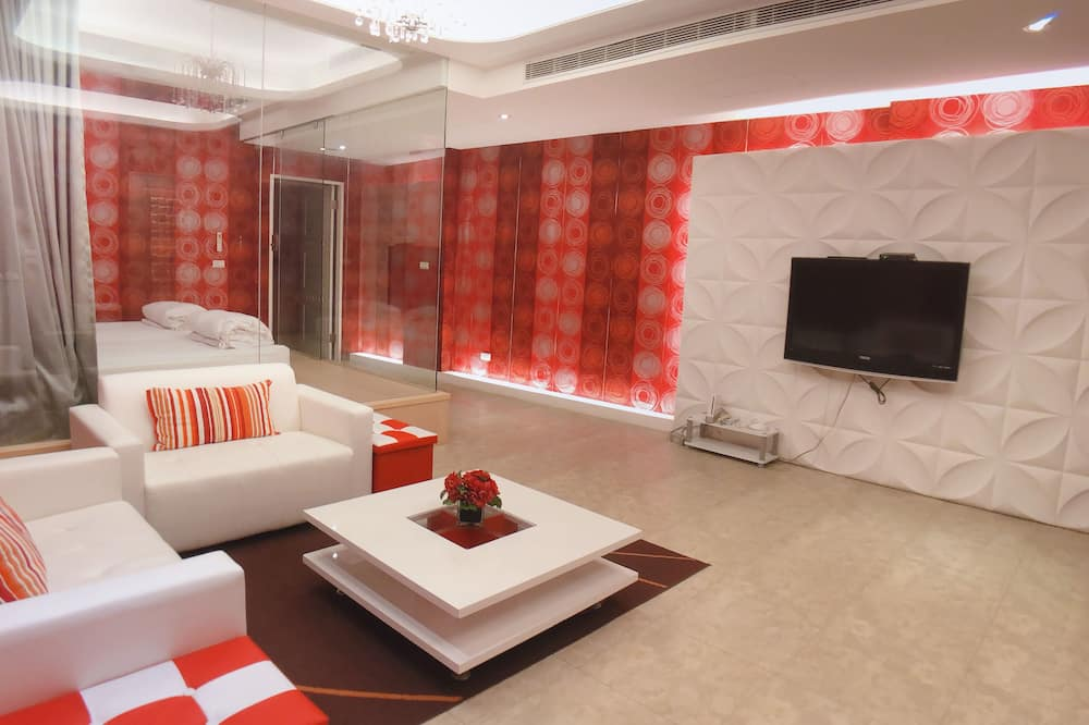 Elite-lejlighed - 2 soveværelser - Opholdsområde