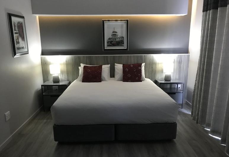 La Orchard Hotel, Johannesburgo, Habitación doble Deluxe, 1 cama King size, Habitación