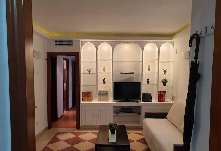 Espacioso Apartamento Centro de Sevilla, Séville, Appartement, 3 chambres, Coin séjour