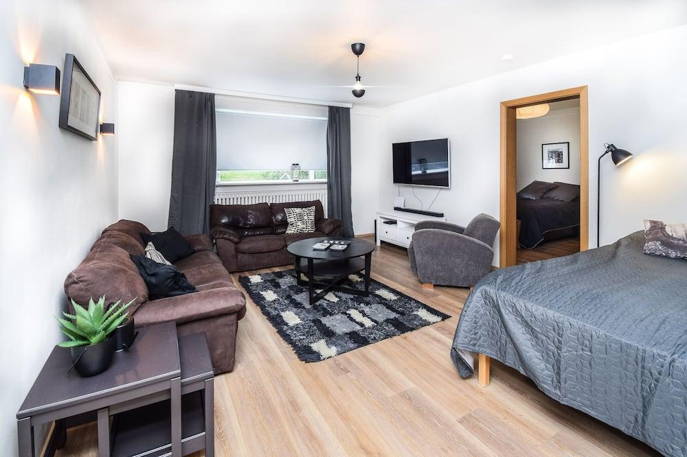 Apartamento Comfort, 1 Quarto - Área de Estar