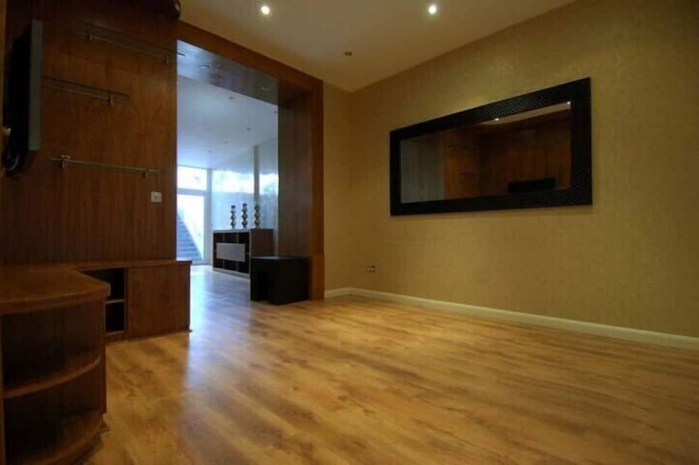 Three-Bedroom Lower Ground Floor Apt - Living Area