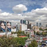 منظر المدينة من المنشأة