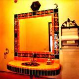 Neljän hengen huone, Näköala mäelle - Kylpyhuone