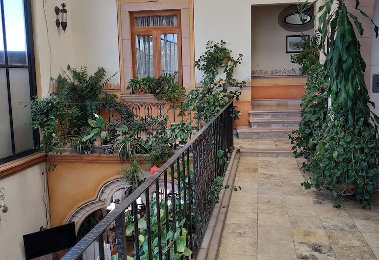 Hotel Centenario Centro de Peña de Bernal, Ezequiel Montes, Terraza o patio