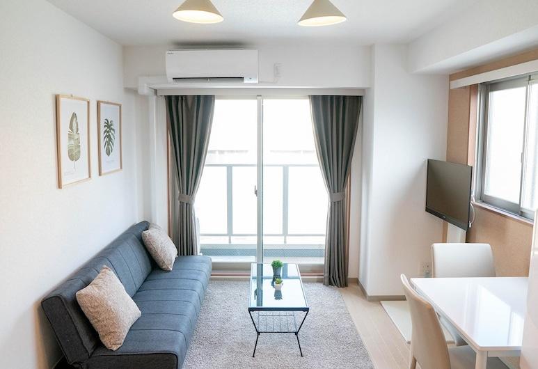 LY INN Tokyo Nihonbashi, Tokio, Habitación familiar (Deluxe), Sala de estar